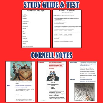 Constitution Unit (Government) *Unit Bundle* Constitution & Bill of Rights