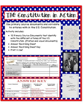 The Constitution in Action