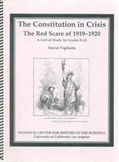 The Constitution in Crisis: The Red Scare of 1919-1920