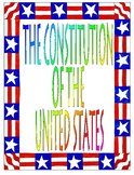 The Constitution of the United States Unit Plan Bundle