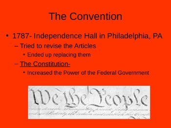Government: Constitutional Compromises Presentation