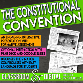 The Constitutional Convention Debate and Compromise Interactive Presentation