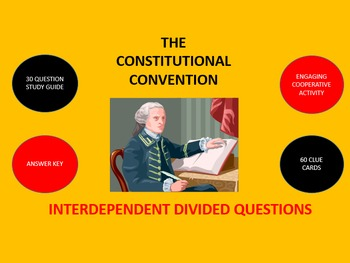 The Constitutional Convention:  Interdependent Divided Questions Activity
