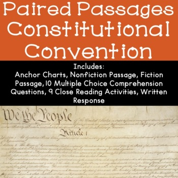 The Constitutional Convention Reading Comprehension Paired Passages