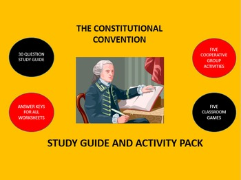 The Constitutional Convention:  Study Guide and Activity Pack