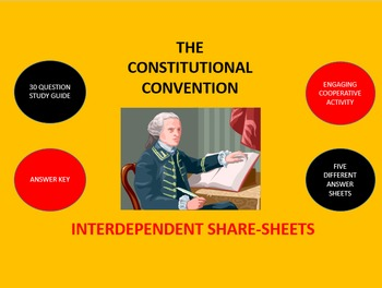 The Constitutional Convention:  Interdependent Share-Sheet