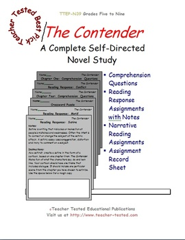 The Contender: A Complete Novel Study