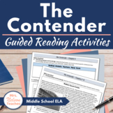 The Contender Novel Study Reading Activities