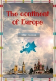 The Continent of Europe mini-lesson