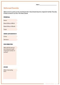 The Convict Australia MEGA Resource Bundle