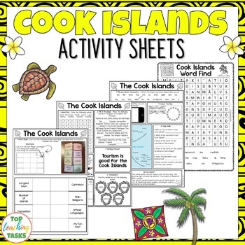 The Cook Islands Activity Sheets - Reading and Writing Activities