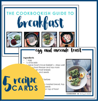 The Cookbookish Guide to Breakfast | Free Breakfast Recipe Cards