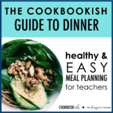 The Cookbookish Guide to Dinner   Meal Planning Recipe Cards for Teachers