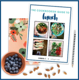 The Cookbookish Guide to Lunch   Meal Planning Recipe Cards for Teachers