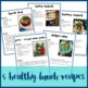 The Cookbookish Guide to Lunch | Meal Planning Recipe Cards for Teachers
