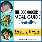 The Cookbookish Meal Guide BUNDLE   Meal Planning Recipe Cards for Teachers