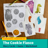The Cookie Fiasco Story + Worksheet