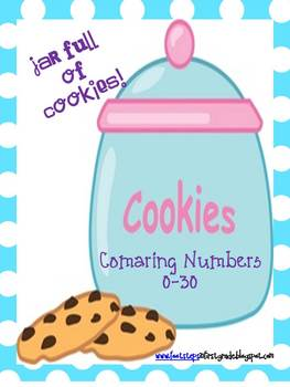The Cookie Jar: Comparing numbers 1-30