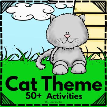 Kindergarten- 1st - 2nd Grade - Cat Theme Science, Math, &