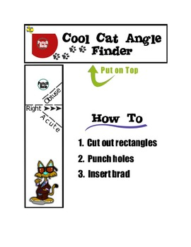 The Cool Cat Math Pack - Angle Finder, Thermometer, Number
