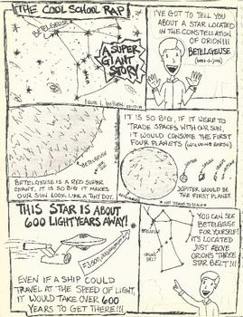 A Supergiant Star Story Comic (Vintage)