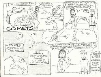 Comets Comic