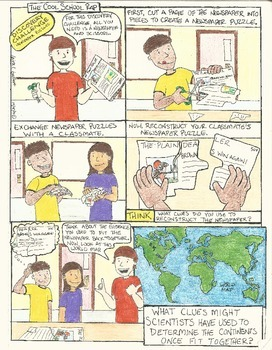 Continental Drift Discovery Activity