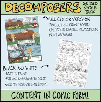 Decomposers Comic