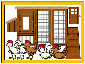 The Coop- Farm, Chicken, Clipart Bundle Commercial & Personal use