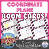 The Coordinate Plane Boom Cards!