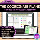 The Coordinate Plane Digital Math Activity for use with Google Slides™