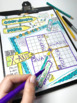 The Coordinate Plane Doodle Notes - Interactive Printables for Plotting Points