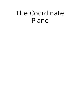 The Coordinate Plane Poster