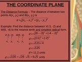 The Coordinate Plane Power Point Lesson