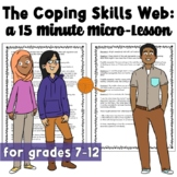 The Coping Skills Web: A Brief Solution Focused Classroom