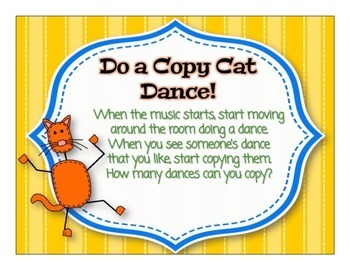 The Copy Cat Game - Orff Music & Movement