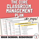 Classroom Management Plan | High School Classroom Management
