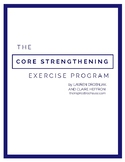 The Core Strengthening Exercise Program