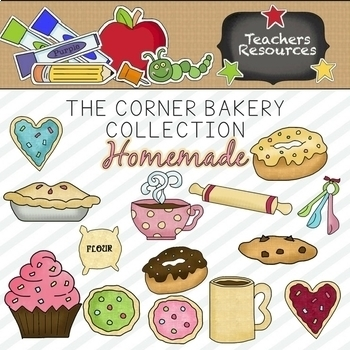 The Corner Bakery Clipart Collection ~ Commercial Use*