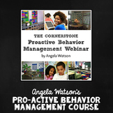 The Cornerstone Pro-Active Behavior Management Online Course