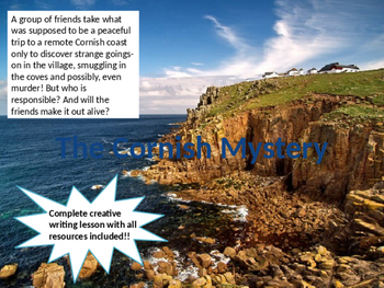 The Cornish Murder Mystery - Creative Writing Lesson