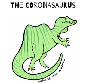 The Coronasaurus: To Reduce Kids' Anxiety about COVID-19 | TpT