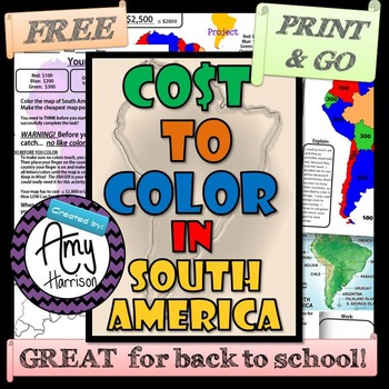 The Cost to Color in South America