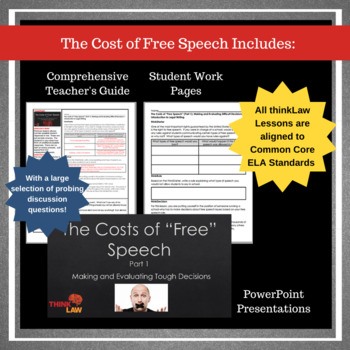 The Cost of Free Speech: Analysis from Multiple Perspectives & Legal Writing