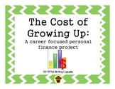 The Cost of Growing Up:  A Biblical and career focused personal finance project