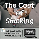 The Cost of Smoking Worksheet - Editable in Google Docs!
