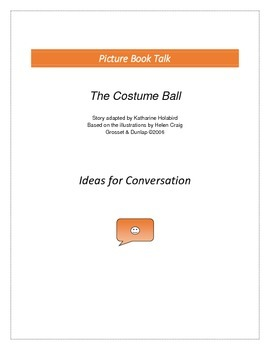 The Costume Ball: Ideas for Conversation