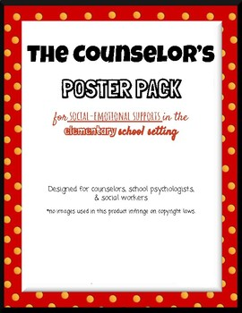 The Counselor's Poster Pack
