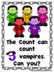The Count Likes to Count  (A Sight Word Emergent Reader and Teacher Lap Book)
