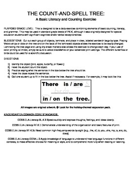 The Count-and-Spell Tree